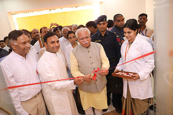 Inauguration of the Research Centre on 7th June 2018