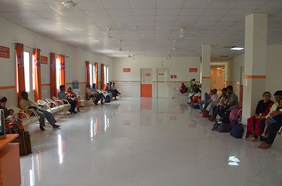 Outpatient Services catering to children from all over India and around the world